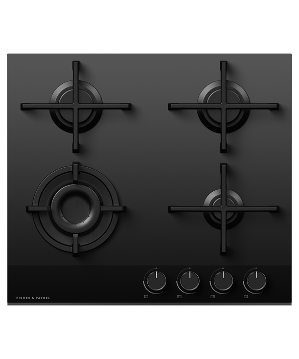 Gas on Glass Cooktop, 60cm, LPG, pdp
