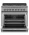 "Gas Range, 36"", 6 Burners, LPG gallery image 2.0"