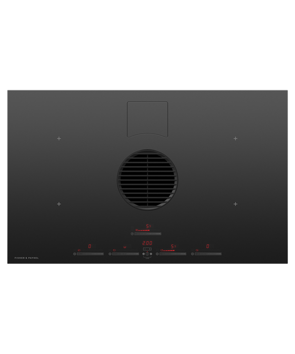 Induction Hob, 83cm, 4 Zones with Integrated Ventilation, pdp
