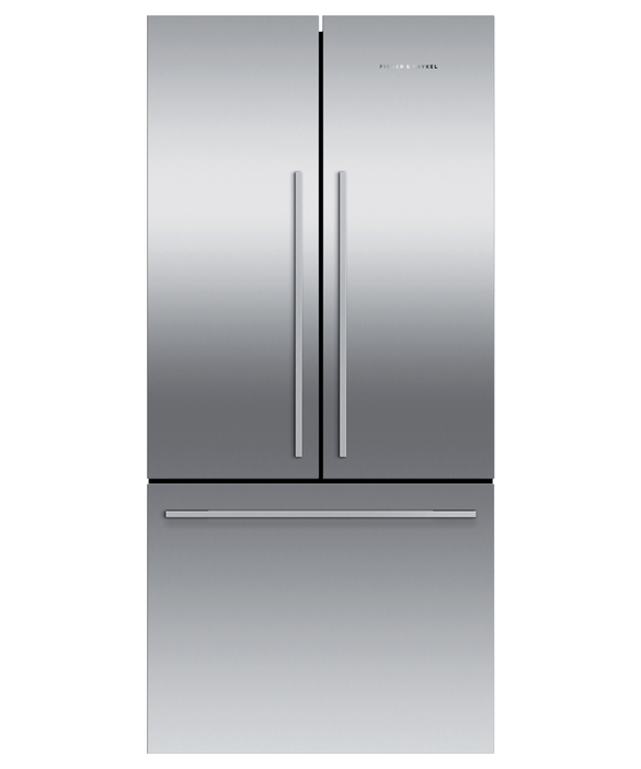 Freestanding French Door Refrigerator, 79cm, 443L, pdp