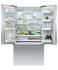"Freestanding French Door Refrigerator Freezer, 36"", 20.1 cu ft, Ice & Water gallery image 1.0"