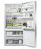 Freestanding Refrigerator Freezer, 79cm, 469L, Ice & Water gallery image 3.0