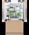 "Integrated French Door Refrigerator Freezer, 36"", Ice gallery image 3.0"