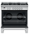 Freestanding Cooker, Dual Fuel, 90cm, 5 Burners gallery image 3.0