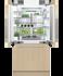 "Integrated French Door Refrigerator Freezer, 36"", Ice gallery image 2.0"