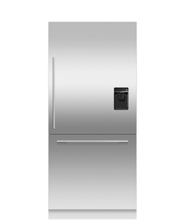 Integrated Refrigerator Freezer, 90.6cm, Ice & Water