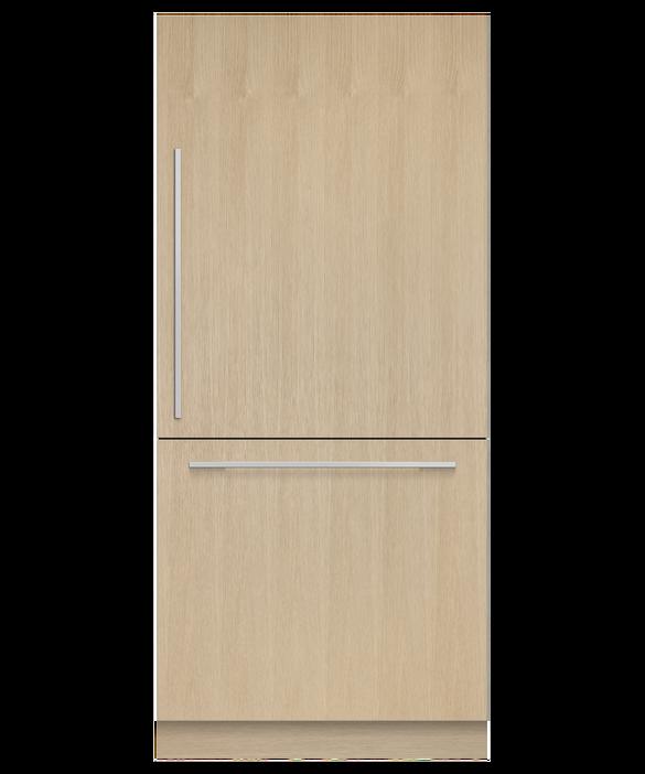 Integrated Refrigerator Freezer, 90.6cm, Ice, pdp