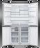 Freestanding Quad Door Refrigerator Freezer, 90.5cm, 605L, Ice & Water gallery image 2.0