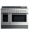 "Gas Range, 48"", 6 Burners with Grill, LPG gallery image 1.0"