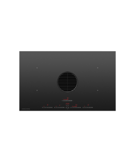 Induction Hob, 83cm, 4 Zones with Integrated Ventilation