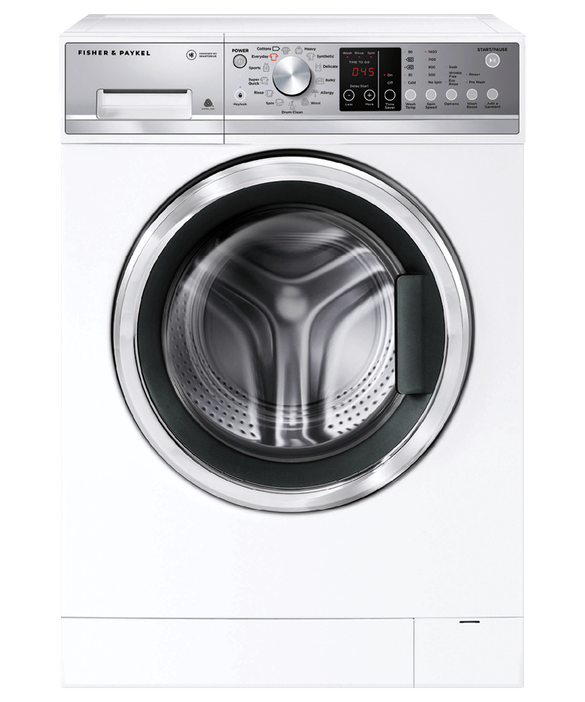 Front Loader Washing Machine, 9kg, with Time Saver, pdp
