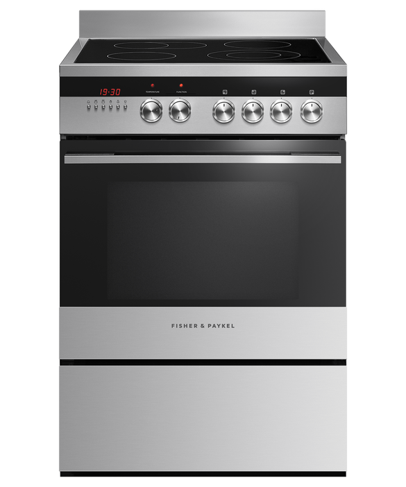 Freestanding Cooker, Electric, 60cm, 4 Zones, pdp