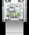 "Integrated French Door Refrigerator Freezer, 36"", Ice gallery image 4.0"