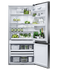 Freestanding Refrigerator Freezer, 79cm, 519L, Ice & Water gallery image 3.0