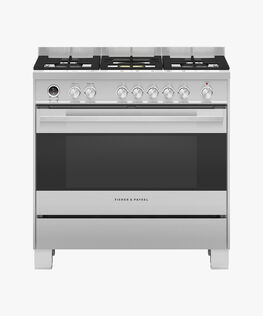 Freestanding Dual Fuel Cooker, 90cm