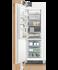 Integrated Column Freezer, 61cm, Ice gallery image 2.0