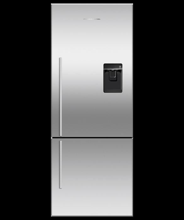 Freestanding Refrigerator Freezer, 63.5cm, 360L, Ice & Water, pdp