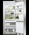 Freestanding Refrigerator Freezer, 68cm, 413L, Ice & Water gallery image 3.0