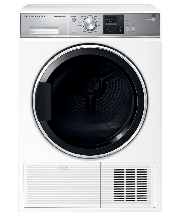 Heat Pump Condensing Dryer, 9kg, pdp