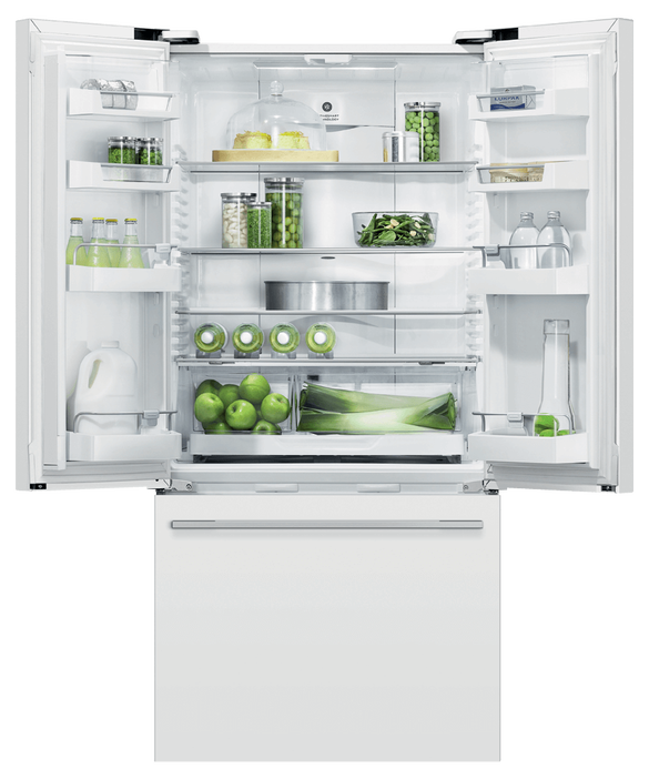 "Freestanding French Door Refrigerator Freezer, 32"", 17 cu ft, pdp"