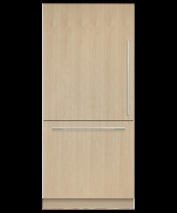 "Integrated Refrigerator Freezer, 36"", Ice, pdp"