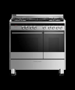 Freestanding Range Cooker, Dual Fuel, 90cm, 5 Burners
