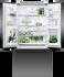 Freestanding French Door Refrigerator Freezer, 79cm, 519L, Ice & Water gallery image 3.0