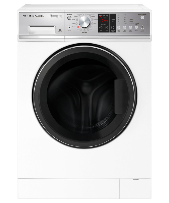 Front Loader Washing Machine, 10kg with Steam Refresh, pdp