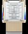Integrated French Door Refrigerator Freezer, 80cm gallery image 2.0