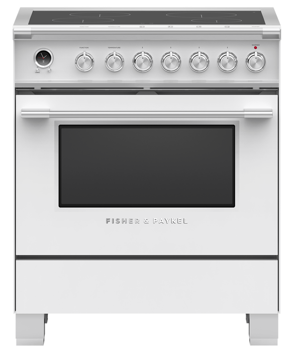 """Induction Range, 30"""", 4 Zones, Self-cleaning, pdp"""