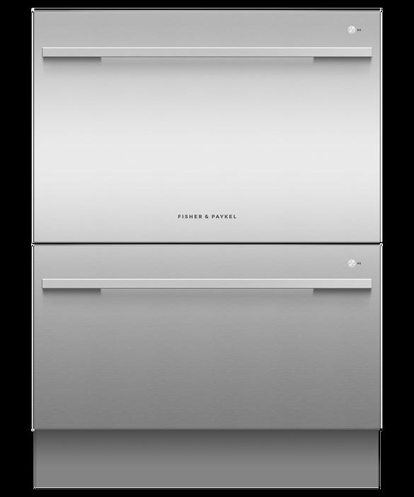 Double DishDrawer™ Dishwasher, Sanitise, pdp