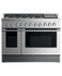"Gas Range, 48"", 6 Burners with Griddle, LPG gallery image 1.0"