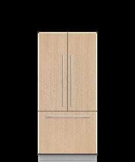 Integrated French Door Refrigerator Freezer, 80cm