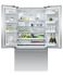 "Freestanding French Door Refrigerator Freezer, 36"", 20.1 cu ft, Ice gallery image 1.0"