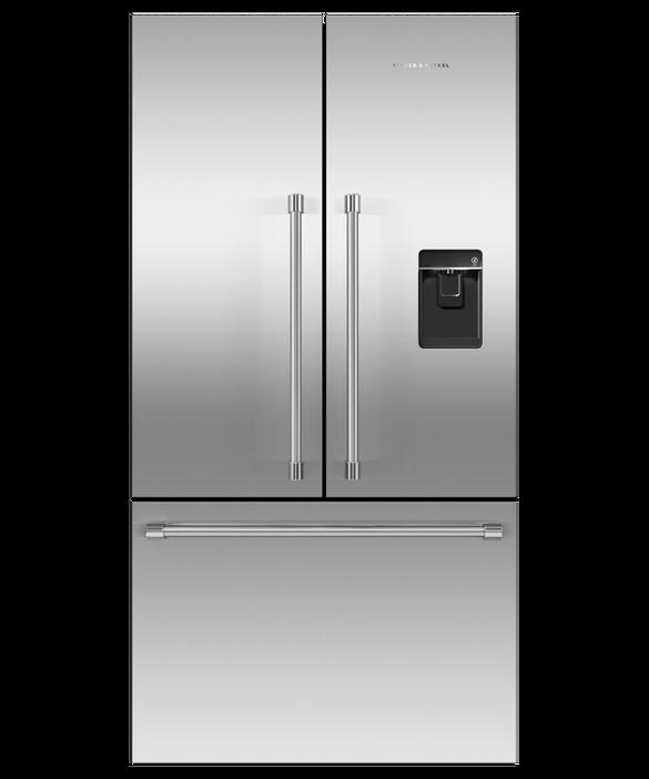 """Freestanding French Door Refrigerator Freezer, 36"""", 20.1 cu ft, Ice & Water, pdp"""