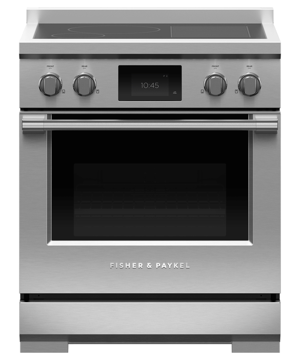 "Induction Range, 30"", 4 Zones with SmartZone, Self-cleaning, pdp"