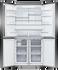 Freestanding Quad Door Refrigerator Freeze, 90.5cm, 538L, Ice & Water gallery image 2.0