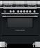 Freestanding Range Cooker, Dual Fuel, 90cm, 5 Burners, Self-cleaning gallery image 1.0