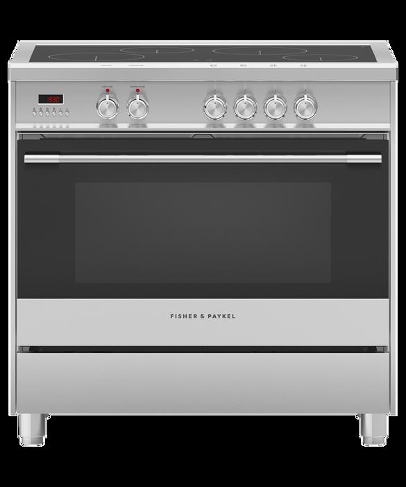 Freestanding Cooker, Induction, 90cm, 4 Zones, pdp