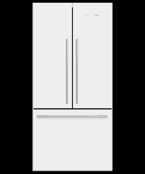 Freestanding French Door Refrigerator, 79cm, 487L, pdp