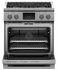 "Dual Fuel Range, 30"", 4 Burners, Self-cleaning, LPG gallery image 3.0"
