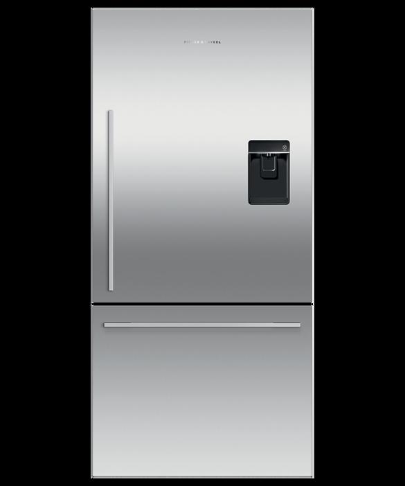Freestanding Refrigerator Freezer, 79cm, 445L, Ice & Water, pdp