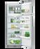 Freestanding Fridge Freezer, 635mm, 377L gallery image 4.0