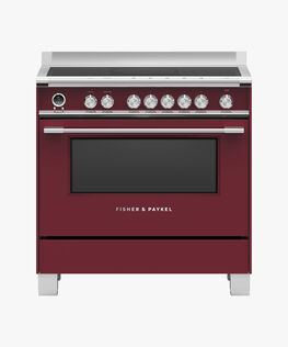 Freestanding Cooker, Induction, 90cm, 5 Zones with SmartZone, Self-cleaning