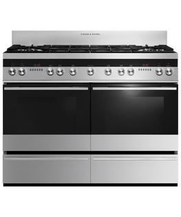 Freestanding Cooker, Dual Fuel, 120cm, 6 Burners