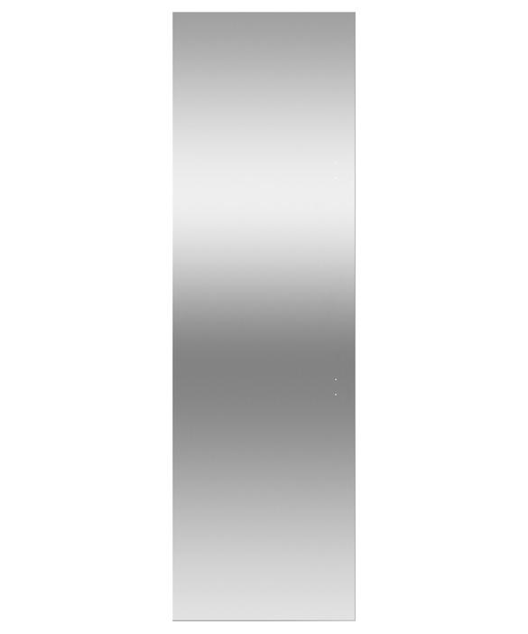 "Door panel for Integrated Column Refrigerator or Freezer, 24"", Left Hinge, pdp"