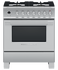 "Dual Fuel Range, 30"", 4 Burners, Self-cleaning gallery image 1.0"