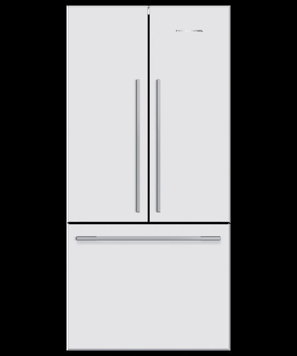Freestanding French Door Refrigerator Freezer, 79cm, 519L, pdp