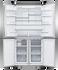 Freestanding Quad Door Refrigerator Freezer, 90.5cm, 538L, Ice & Water gallery image 2.0