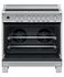 Freestanding Cooker, Induction, 90cm, 5 Zones with SmartZone, Self-cleaning gallery image 3.0